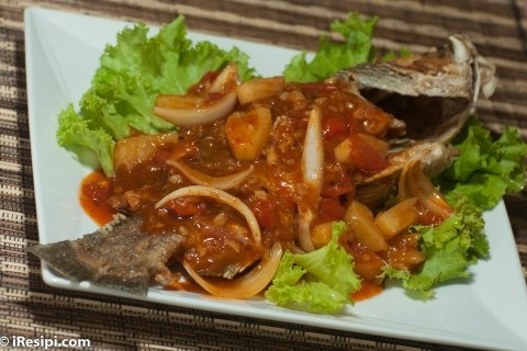 Resepi Sea Bass With Sweet Andsour Sauce