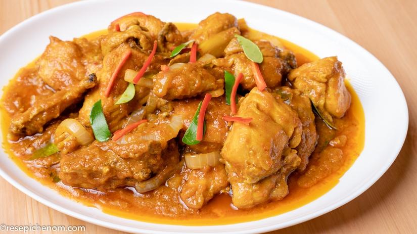 Ayam Masak Thai Yang Mengancam Sedapnya