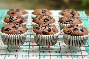 Muffin Chocolate Hazelnut