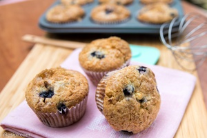 Muffin Blueberry Gebu