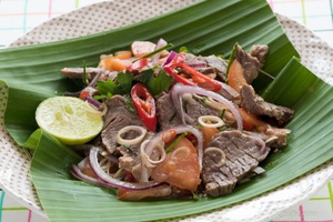Kerabu Daging Ala Thai