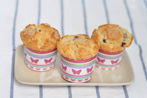 Blueberry Jam Muffin